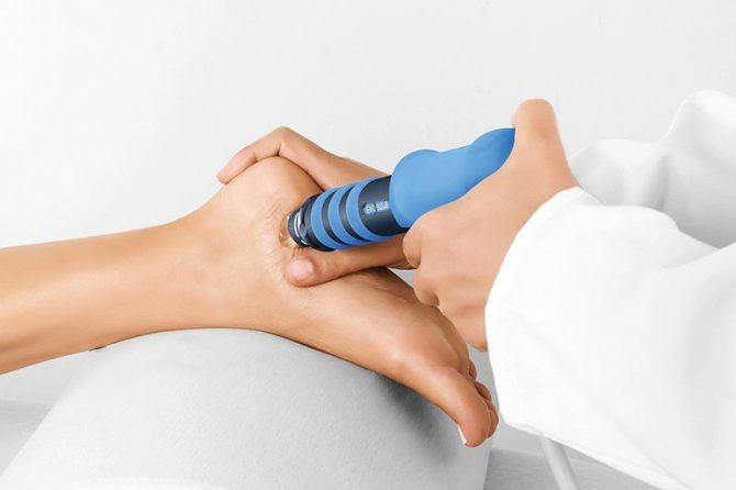 Shockwave Therapy at Seva Wellness Massage Therapy Surrey